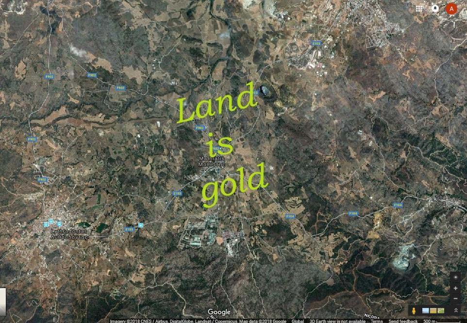 Agricultural land in Odou (LAC10808)  3011 SqMt Odou, Larnak.....