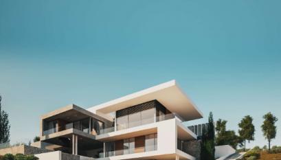 Impressive design three level villa in Ayios Tychonas area.....