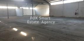 Warehouse / Factory Monovolikos, Limassol   long term rent