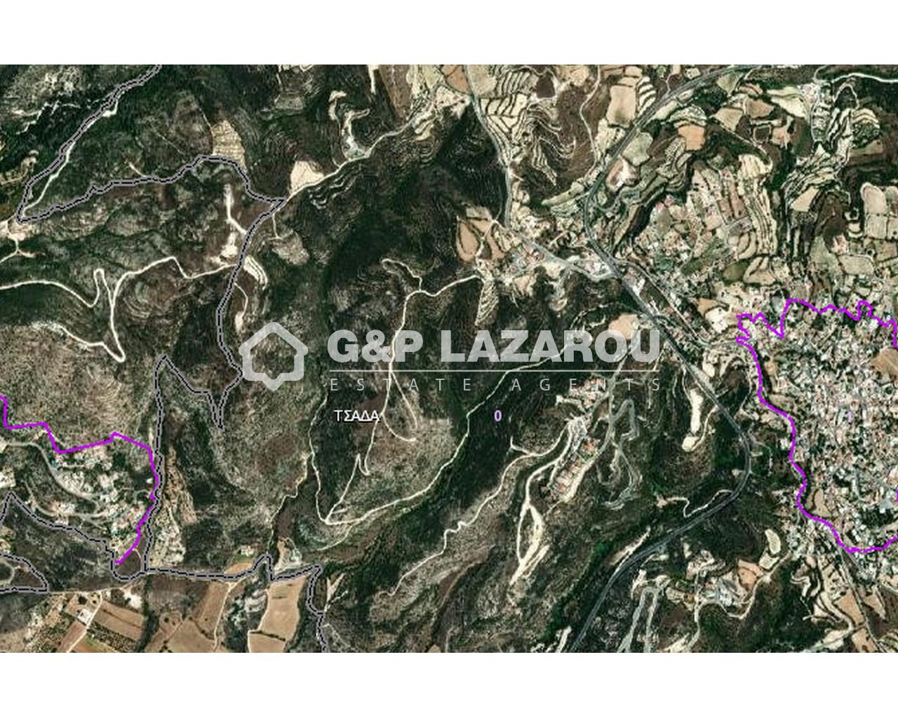 Land Paphos(Tsada)  12375 SqMt for sale