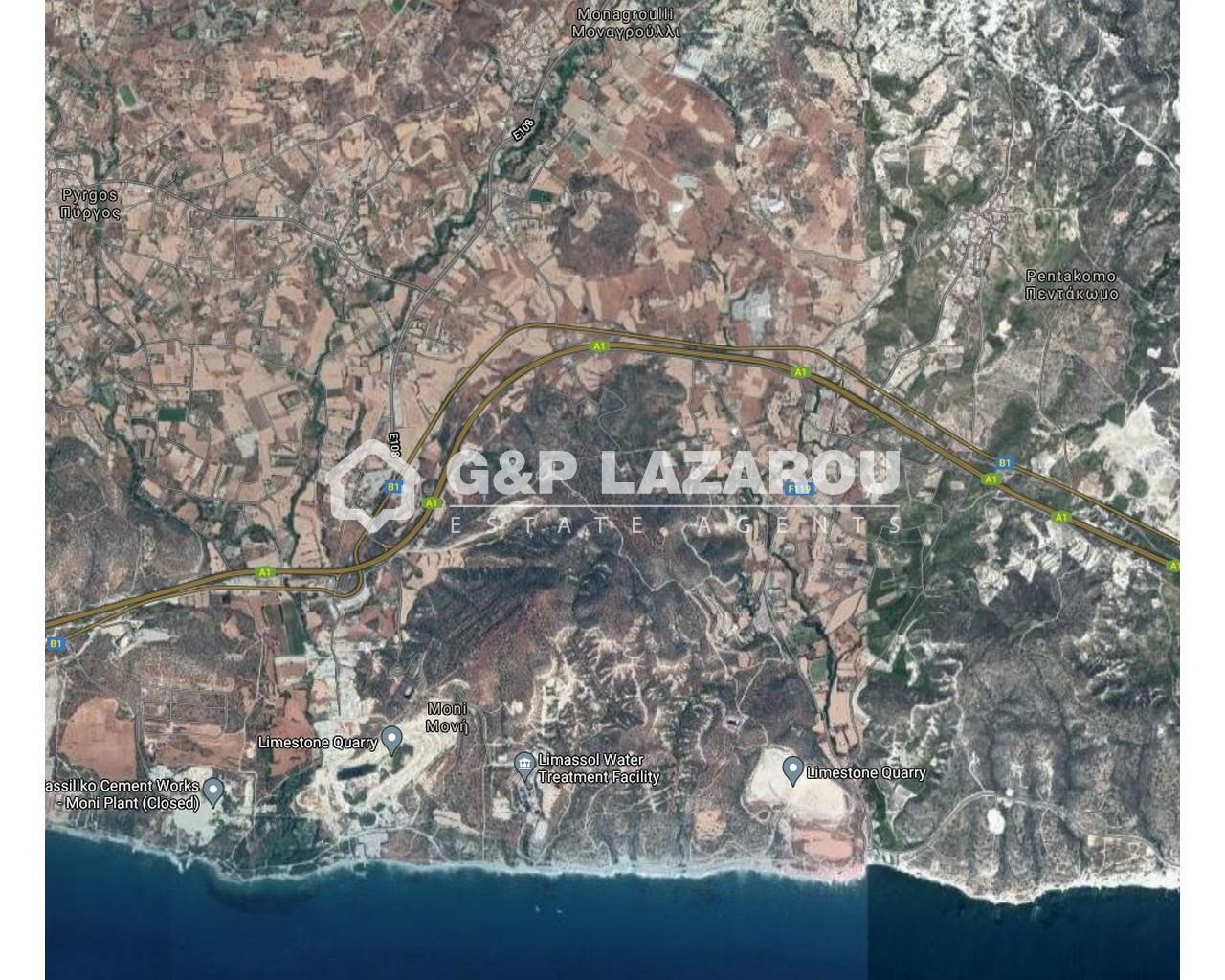 Land Limassol(Monagroulli)  3679 SqMt for sale