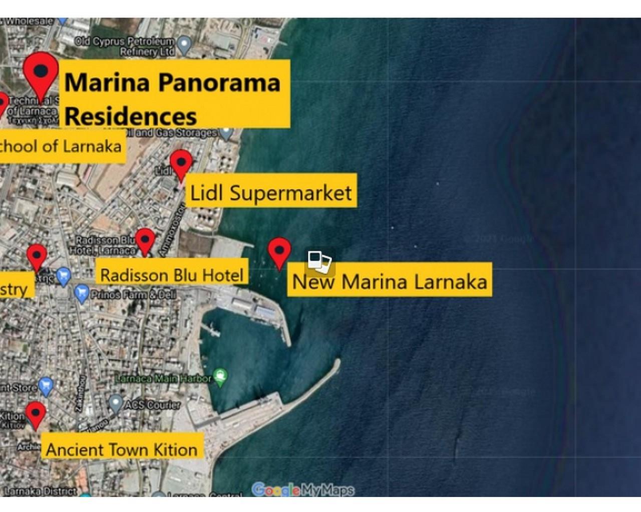 Apartment Larnaca(Larnaca)  3 Bedrooms 2 Bathrooms 99 SqMt f.....