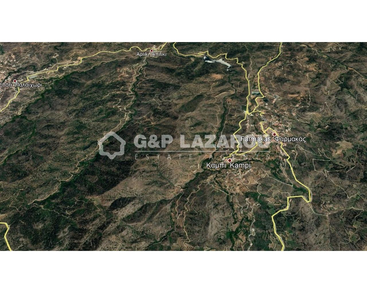 Land Nicosia(Kampi)  3011 SqMt for sale
