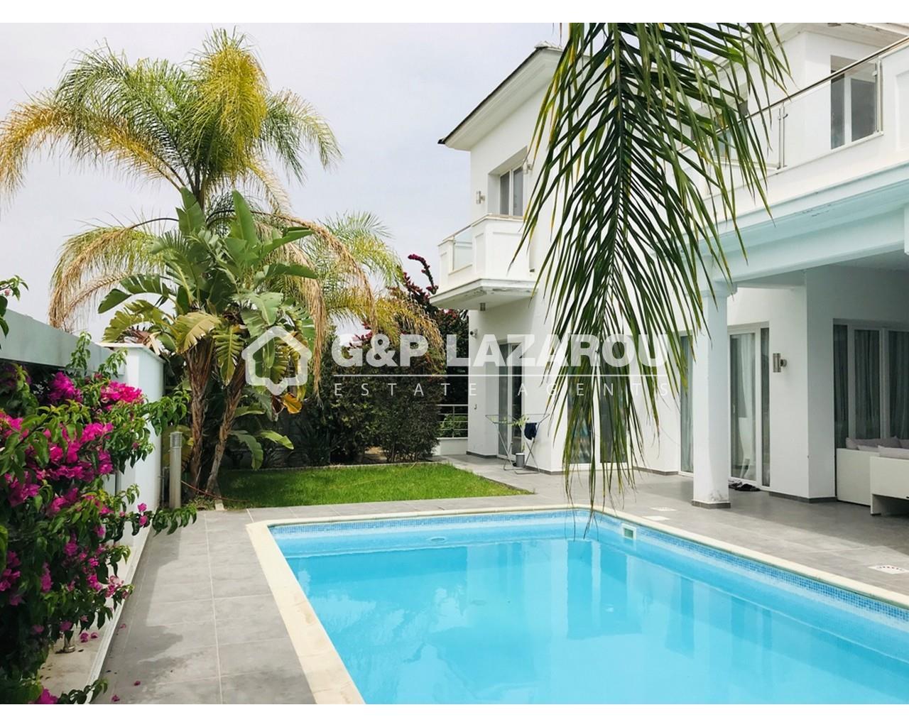 Villa Limassol(Pyrgos)  4 Bedrooms 3 Bathrooms 287 SqMt for.....