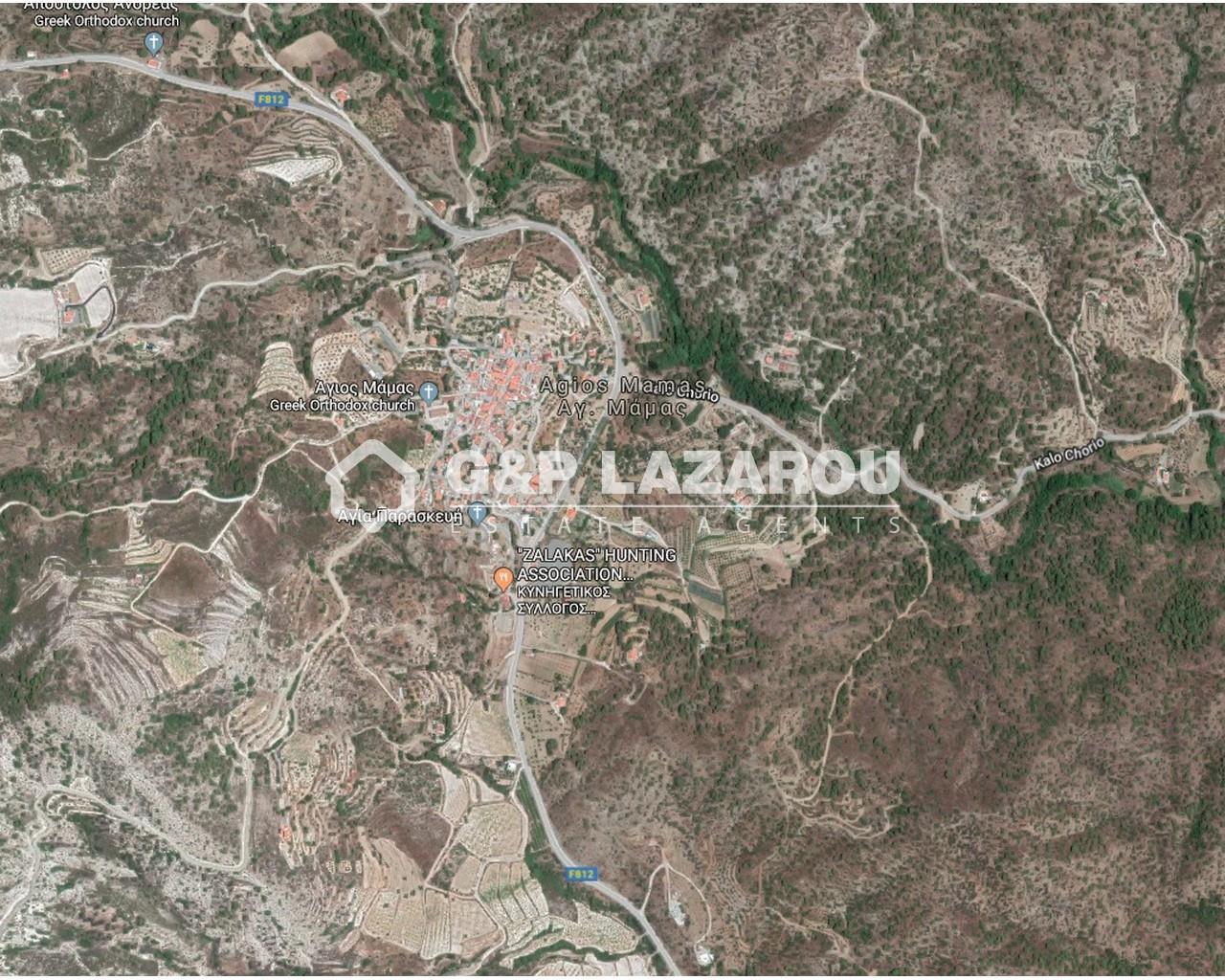 Land Limassol(Agios Mamas)  1004 SqMt for sale