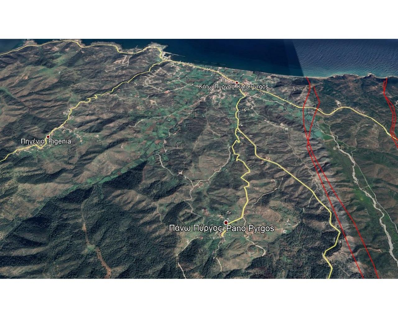 Land Nicosia(Pyrgos Pano)  627 SqMt for sale