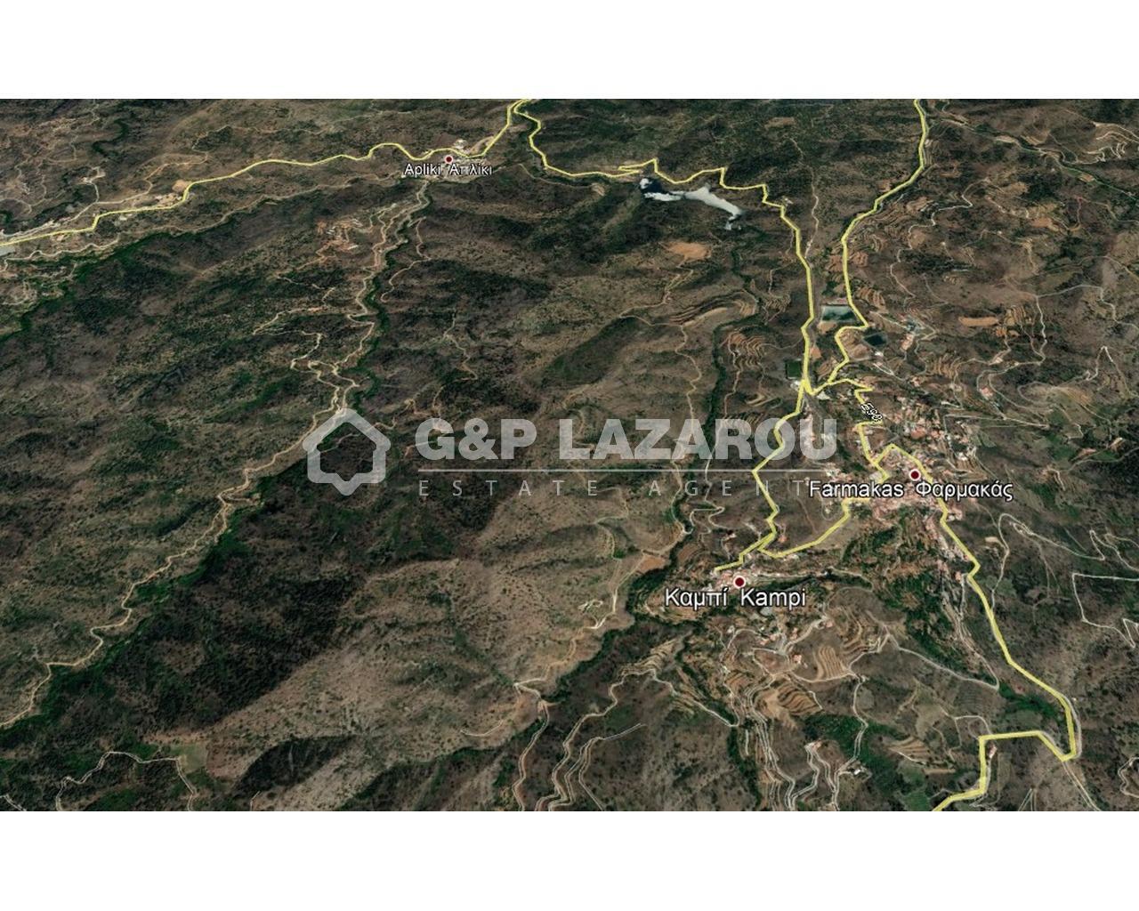 Land Nicosia(Kampi)  3512 SqMt for sale