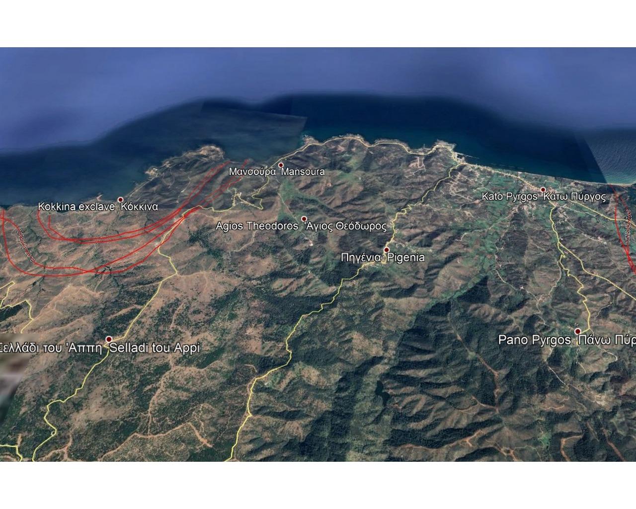 Land Nicosia(Pigenia)  966 SqMt for sale