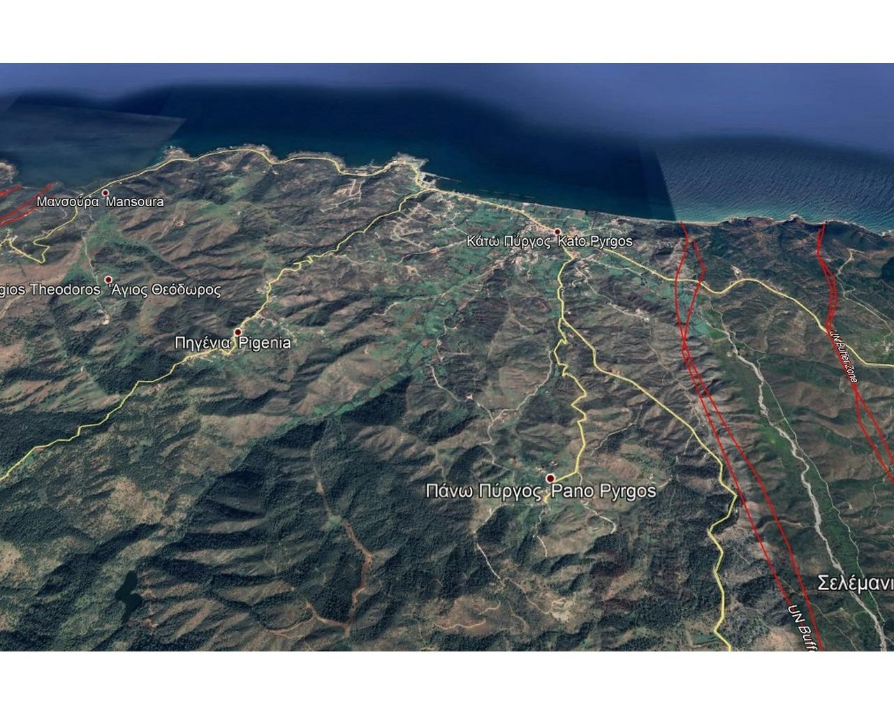 Land Nicosia(Pyrgos Pano)  836 SqMt for sale
