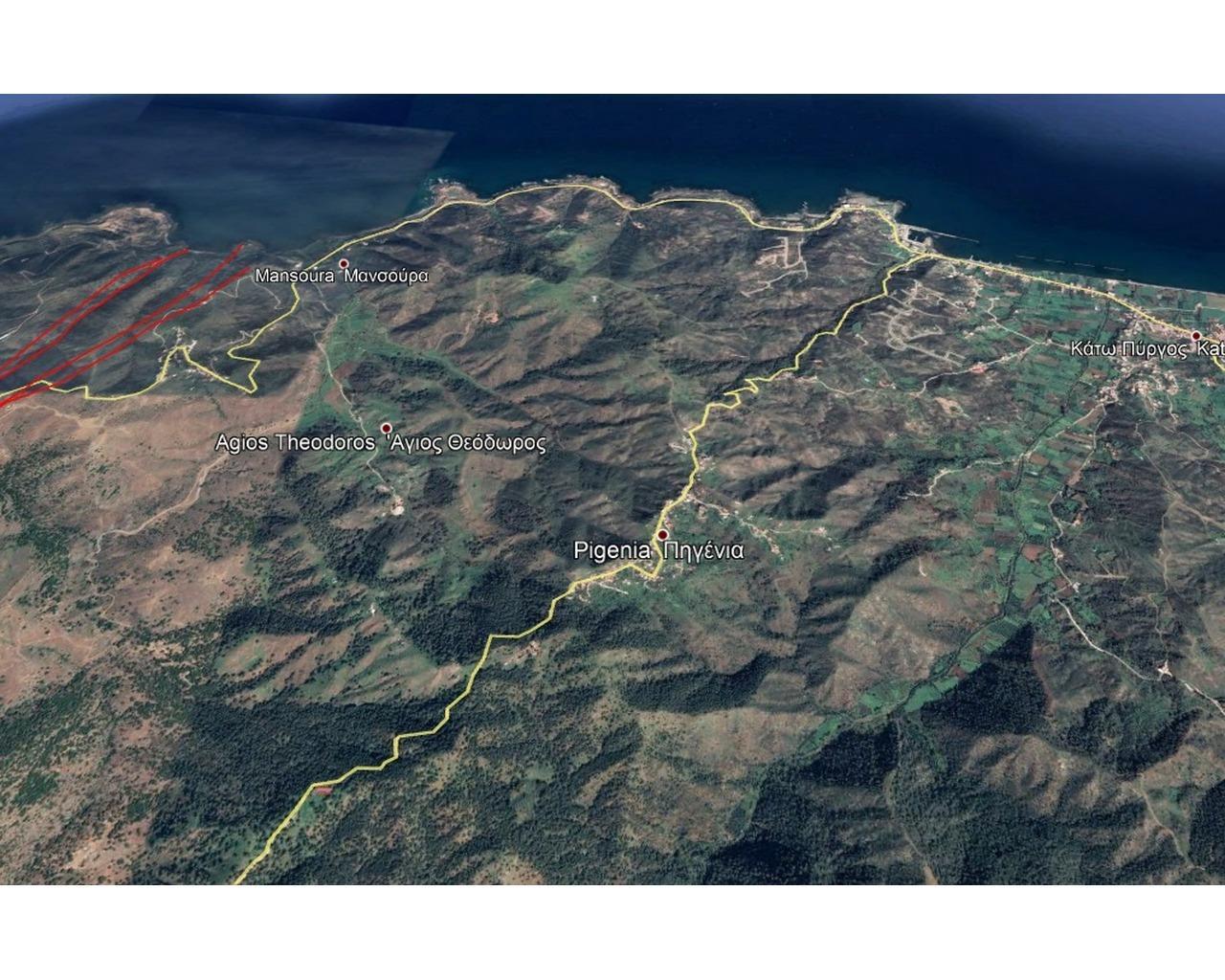 Land Nicosia(Pigenia)  1212 SqMt for sale