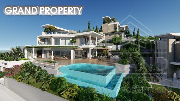 08260  Villa 7 Bedrooms 675 SqMt Limassol Agios Tychonas Sal.....