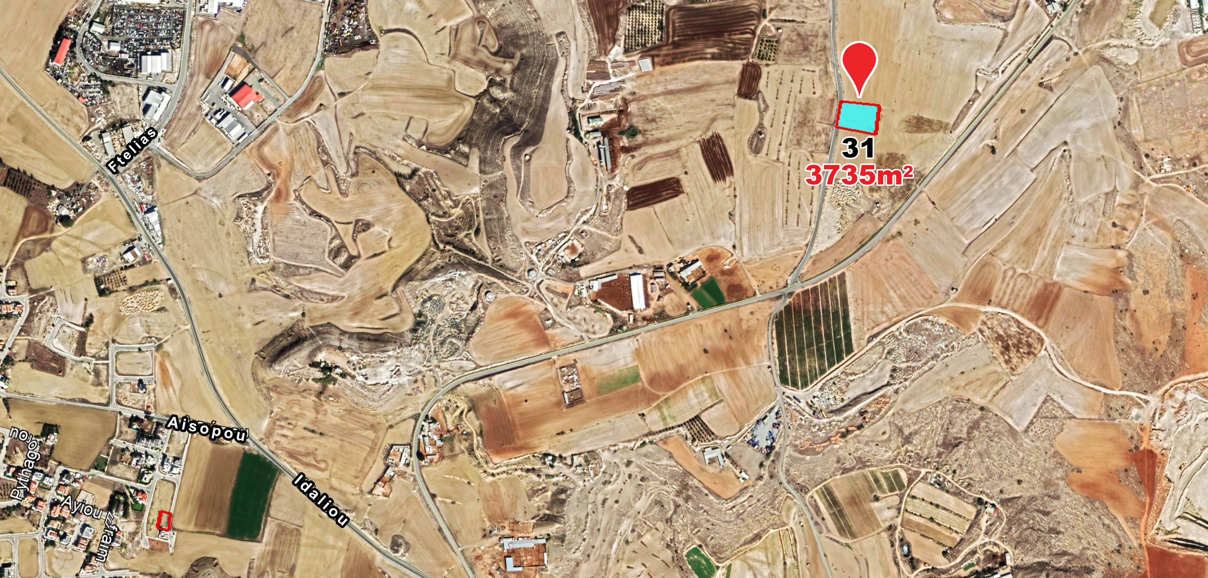 Land parcel 31 in Dali  For Sale Nicosia, Dali