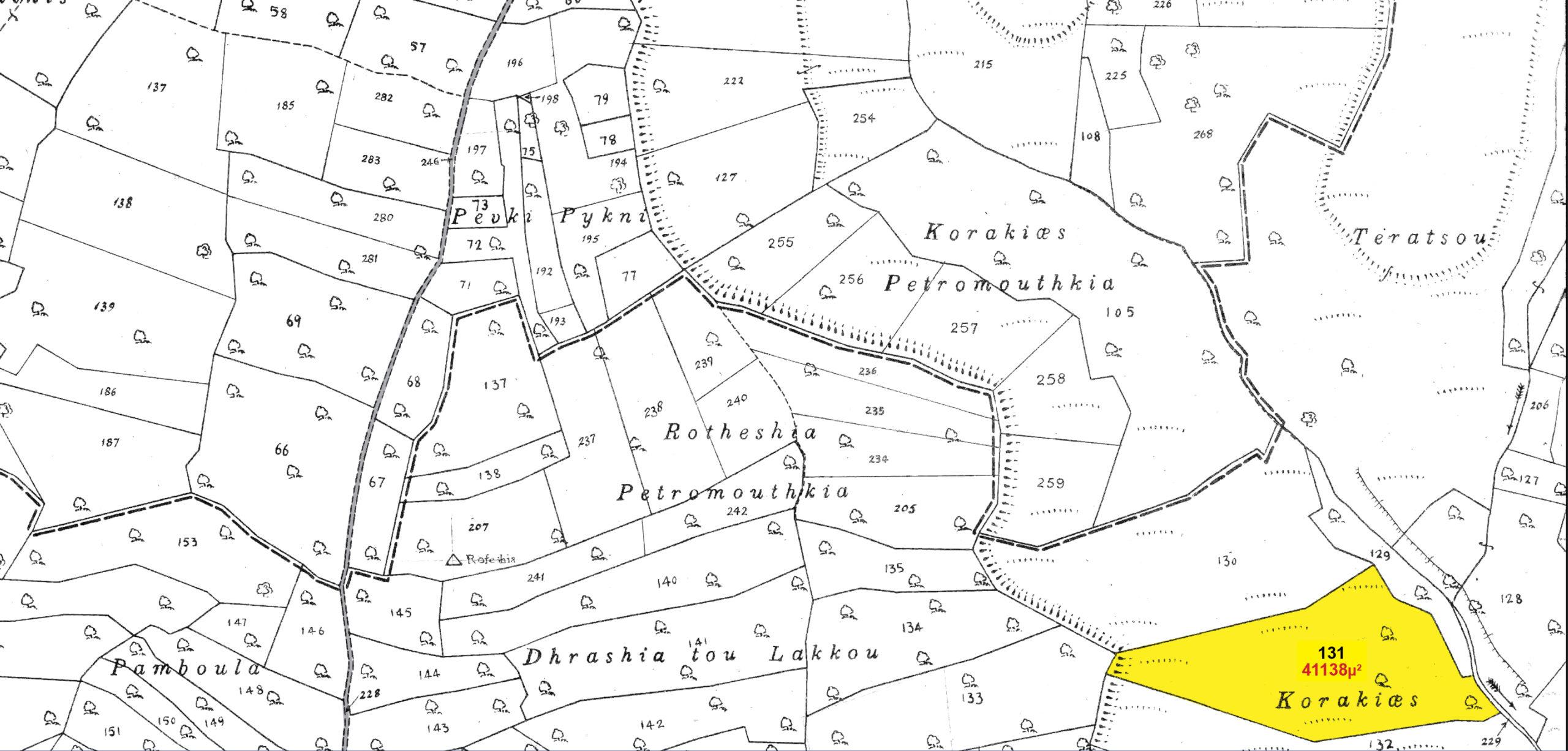 Land Parcel 131 in Sotira  For Sale Limassol, Sotira