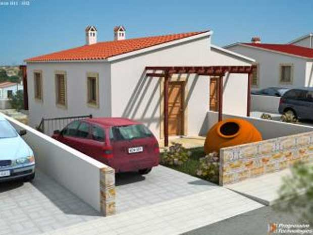 2 Bed House for Rent in Psematismenos, Larnaca  2 Bedrooms 1.....